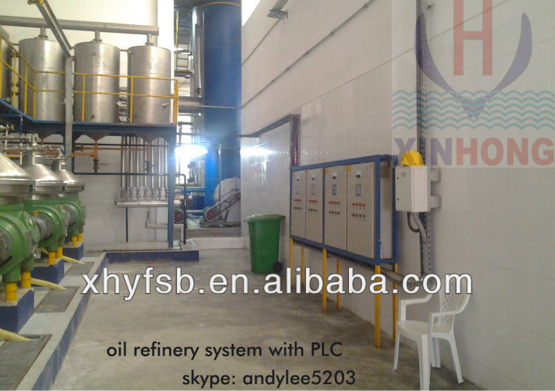 fish oil refinery machine
