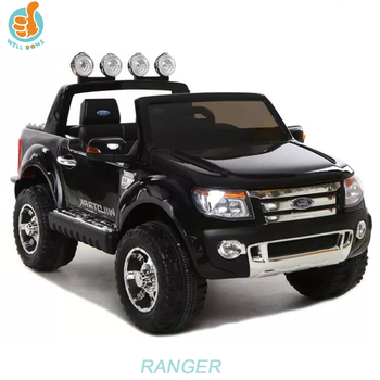 Hot Selling Licensed Ford Ranger Ride On Car For Big Kids, Pick Up Truck With Music And Light