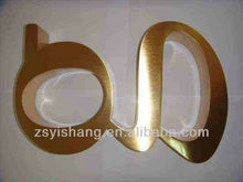 High quality Metal acrylic backlit letter signage