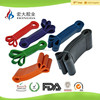 Hot resistance band set for fitness exercise