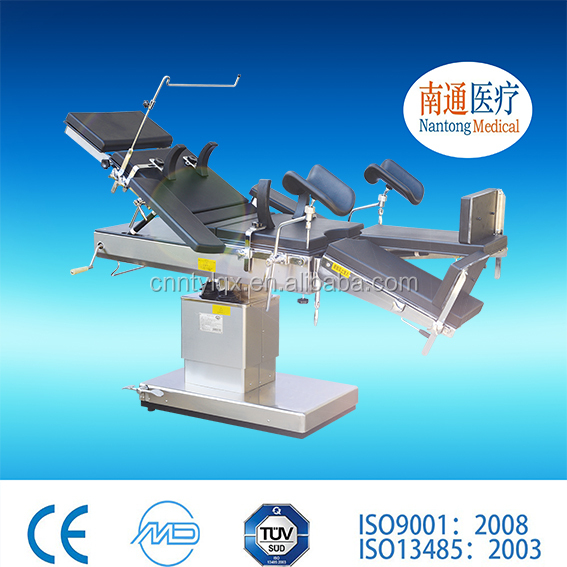 Best price! 2016 Nantong Medical best selling product electric operating table with built-in battery