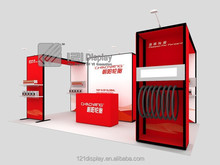 2016 modular portable exhibition booth design and construction 3x6