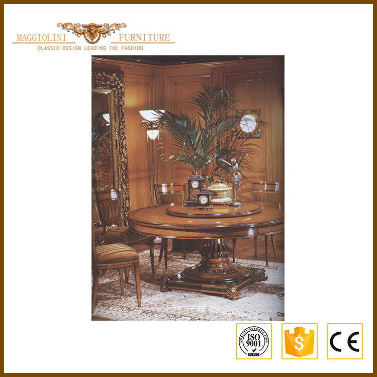 New style latest luxury dining room furniture wood table