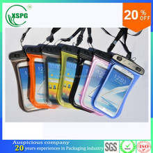 Promotional waterproof cellphone/mobilephone carry case/bag with OEM service