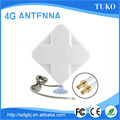 Factory price white 35dbi panel sucker mount 4g antenna for Huawei
