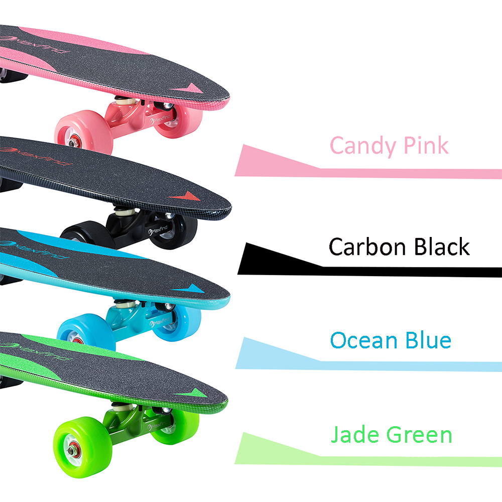 four colors electric skateboard