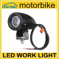 Super bright motorcycle 10w cree led work light spotlight driving light
