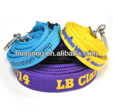 2014 hot new products custom polyester hollow printed lanyard, no minimum order lanyard(M-251)
