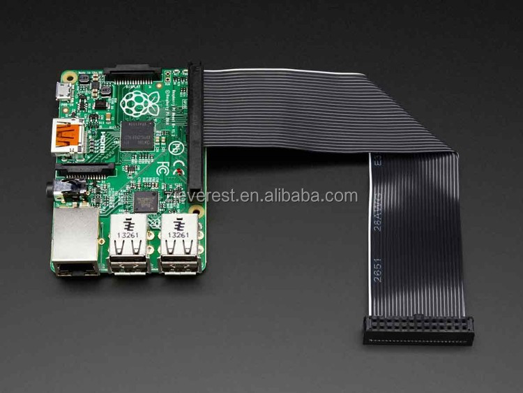 Raspberry Pi Model B Plus B+ Downgrade GPIO Ribbon Cable from 40 pin to 26 pin
