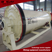 Intermittent or continuous ball mill with ISO9001 & CE