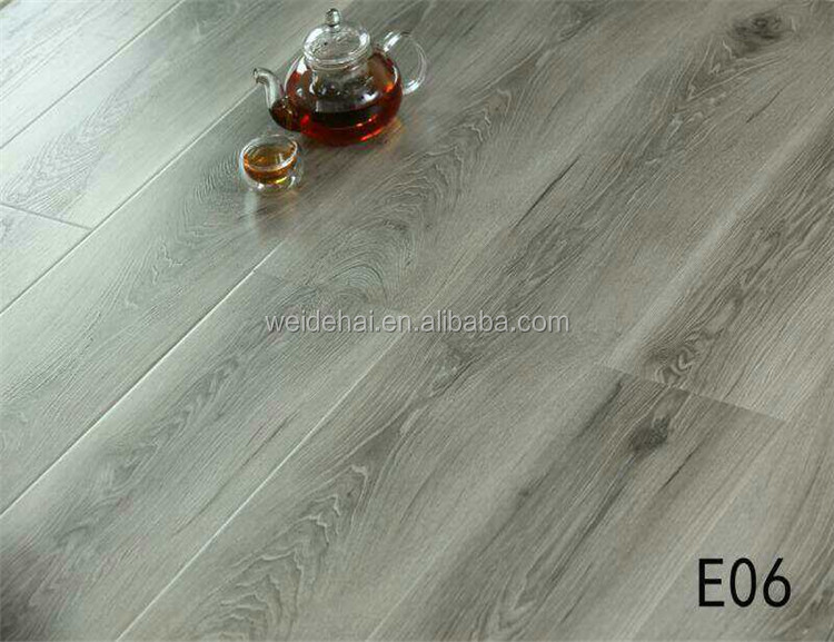 DIY formaldehyde free AC4 <strong>12mm</strong> hdf natural wood texture durable laminate flooring 25 year Residential