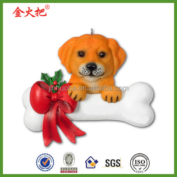 2016 resin China personalized christmas ornaments