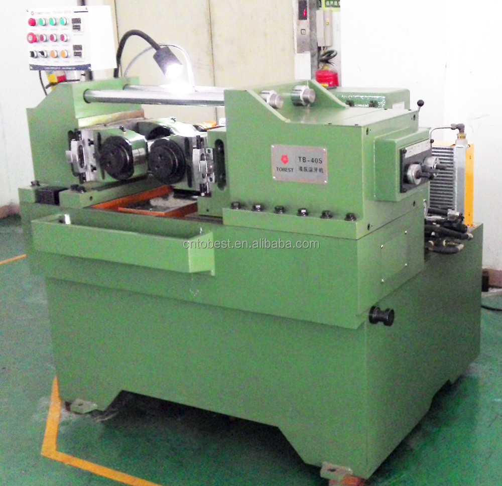 manual thread rolling machine steel bar thread rolling machine