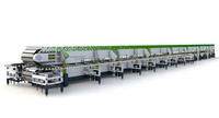 hydraulic automatic pu sandwich panel production line