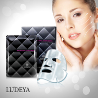 LUDEYA High Quality OEM ODM Repairing Skin Care Bio Cellulose Peel Off Mask
