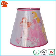 fairly tale pretty girls design pink kids desk decoration lighting shade