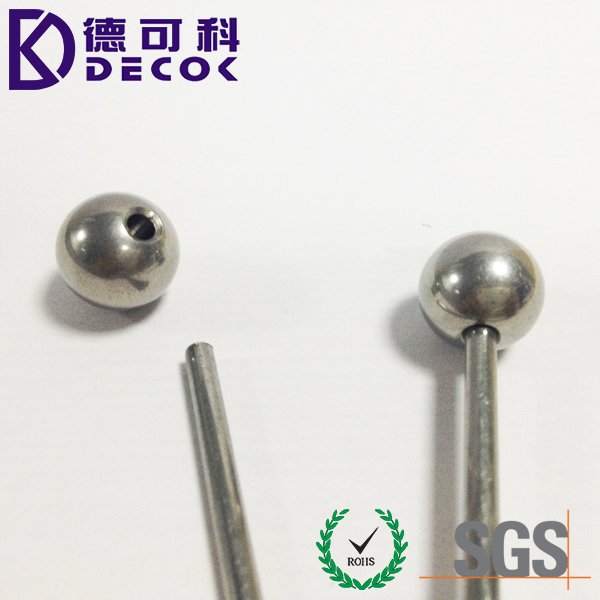 8mm Steel Ball With M3 Threaded Hole 12.7mm half drilled steel ball