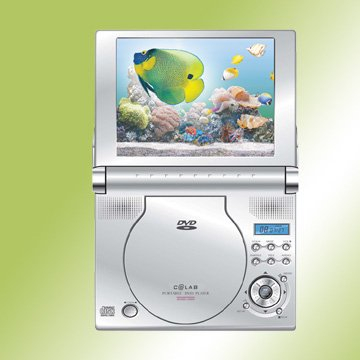 Super Slim Portable Dvd / Vcd / Cd / Mp3 Player