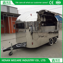 Food Vending Machine Multi-fuction Mobile Hamburger Cart For SAle