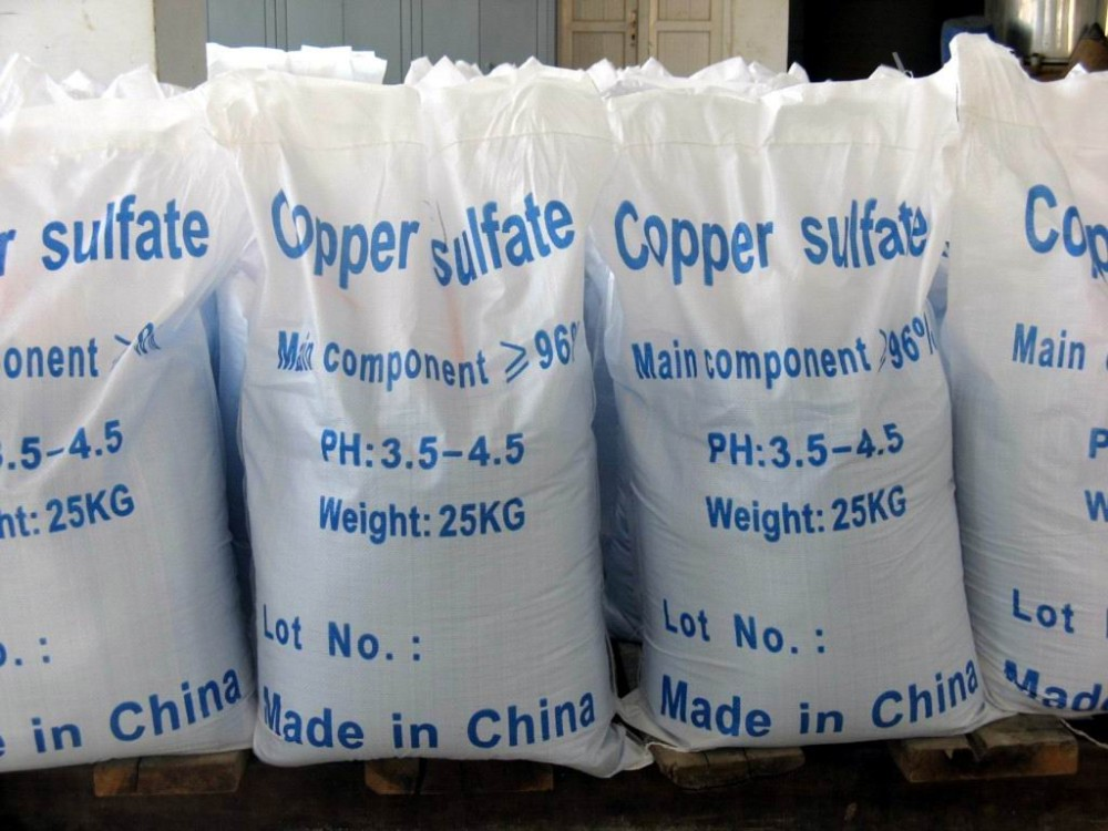 Copper Sulphate Pentahydrate agricultural use blue crystal