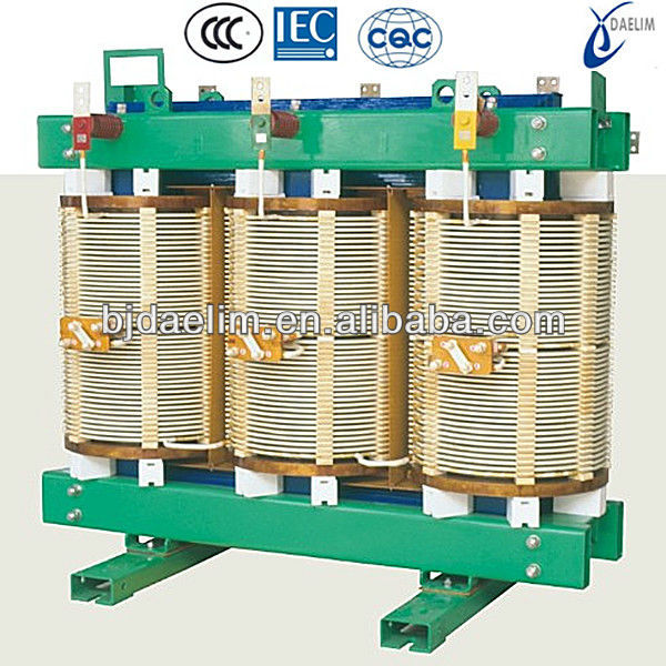 SG10 Type H-class Insulation Dry-type 11kv 33kv power transformer