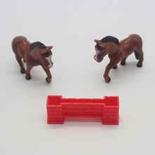 Latest Design OEM Mini Plastic Animal Horse Set Toys