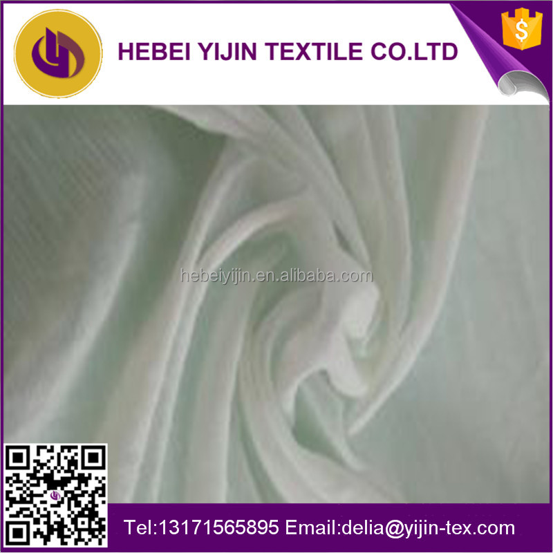 Hot sale 40gsm white 100% polyester voile fabrics for wedding backpacks