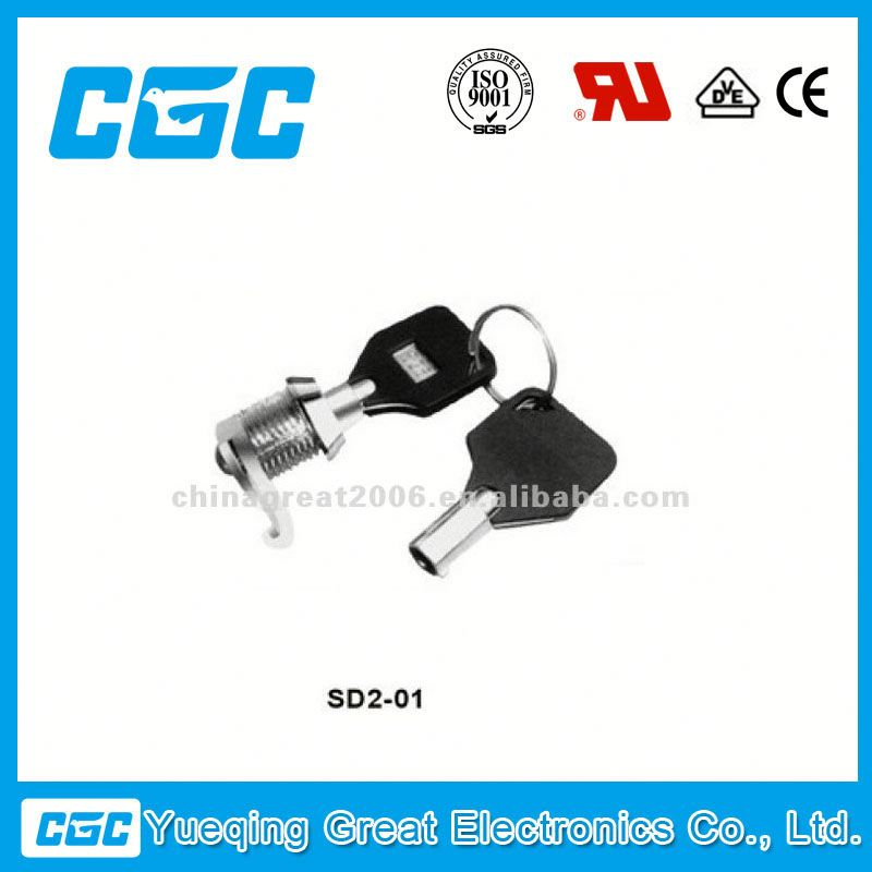 China KEY LOCK SWITCH SD2-01 waterproof push button