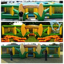 12 x 10m inflatable corn maze for sale