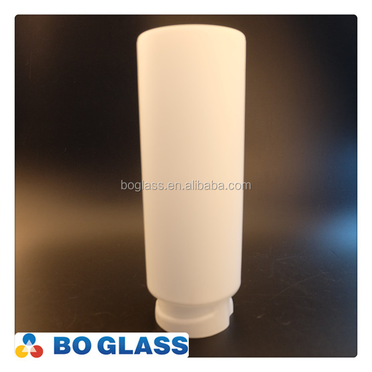Opal White Modern Glass Shades Decorative Indoor Wall Lamp with Bayonet