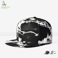 wholesale factory custom high quality 6 panel caps snap backs printing snapback hat