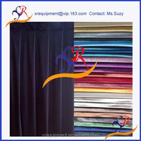 Highest test Flame retardant BS5852 crib5 theatre curtains drapery