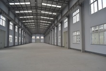 Prefabricated heavy steel space truss structure Warehouse Building Design