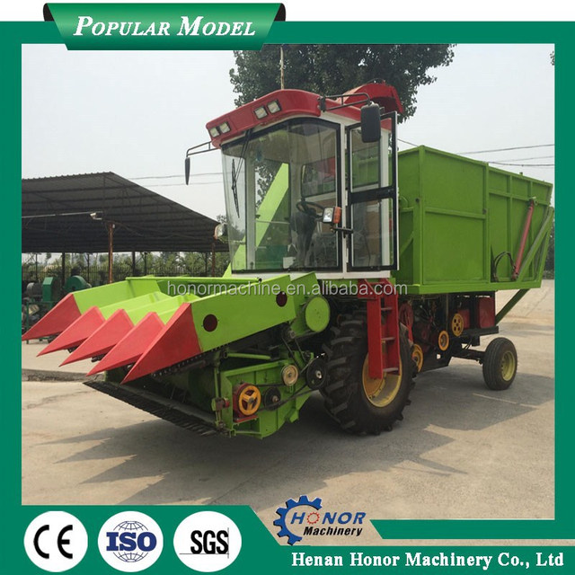 Agricultural Machine 2 Row Corn Harvester