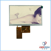 High quality 480*272 RGB square 5.0 inch tft lcd monitor touch screen monitor
