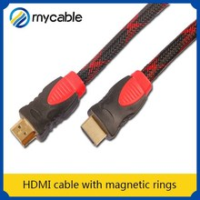 HDMI cable with magnetic rings tablet hdmi input