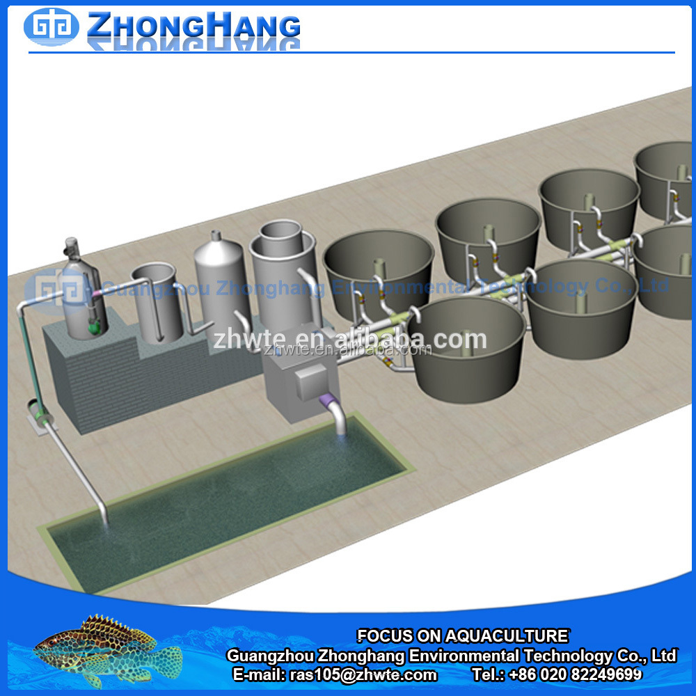 RAS Fish Farming Equipment