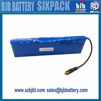 Customized Rechargeable 12 volt lithium battery packs for portable printer