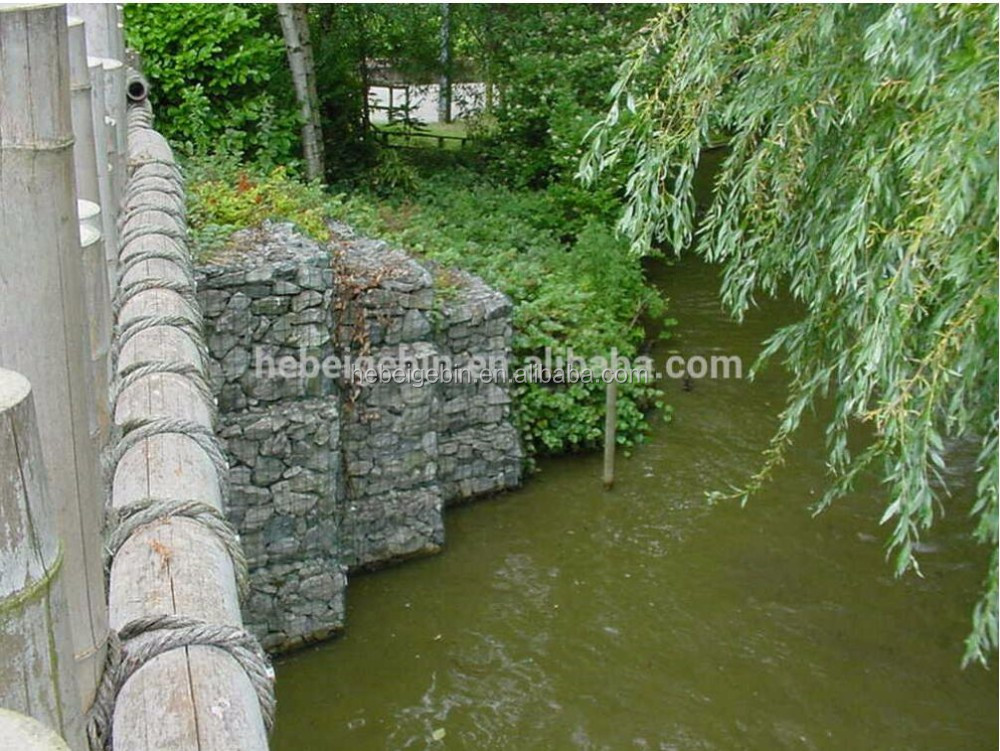 Galfan Welded Gabion/rock fall netting/cage mesh for protection(factory design support according to customer's request)