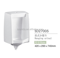 square wall hung urinal for sale