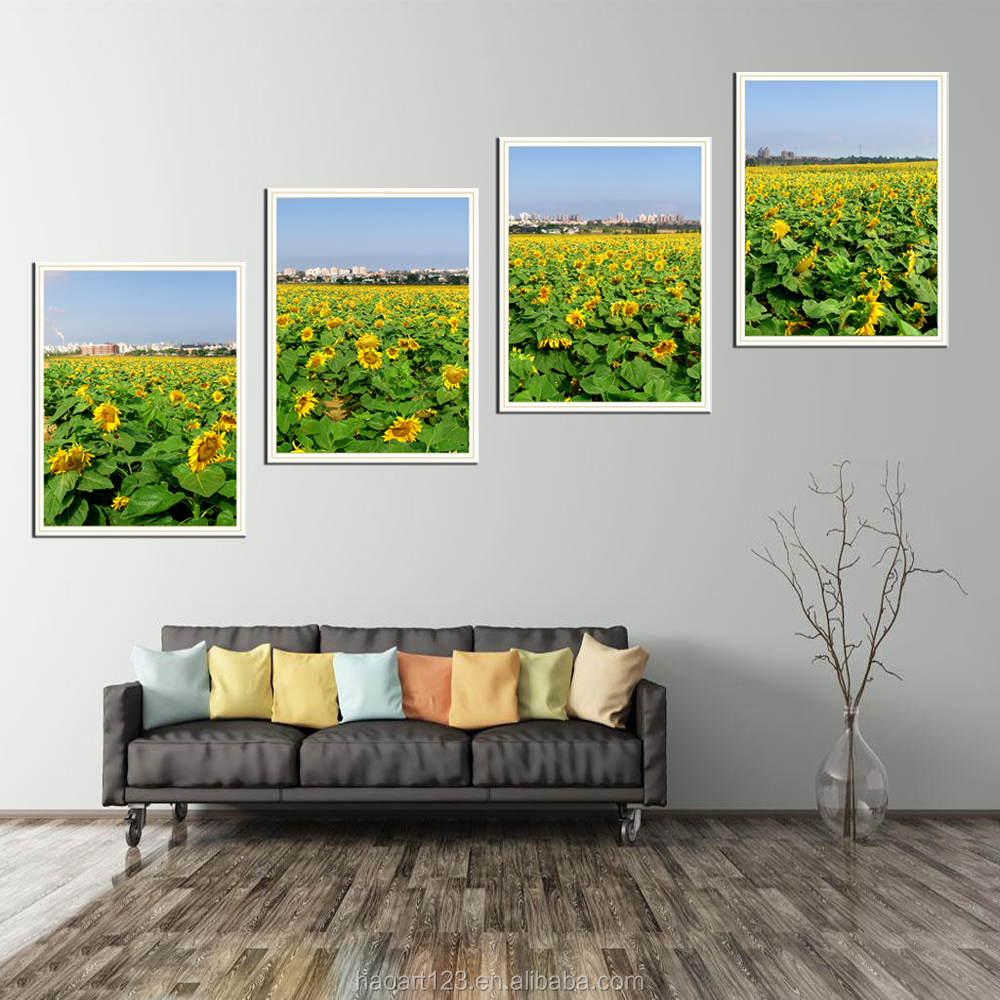 5 Panel Digital Printing Canvas Art for Living Room