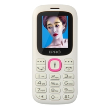 "IPRO new wholesale 1.77"" inch quad band dual sim Dual Sim Long Standby Time Mobile Phone with FCC CE certificate"