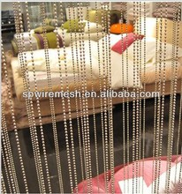 High Quality Metal Beaded String Curtain