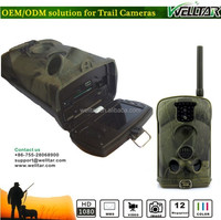 Infrared Trail Camo Hunting Video Camera MMS GPRS, 4-6 Months Stand-by time