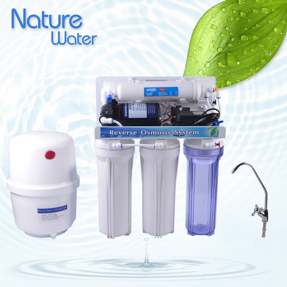 5 stages house hold water purifier / water filter RO system
