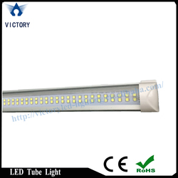 Double line T8 led tube light 22w with high brightness