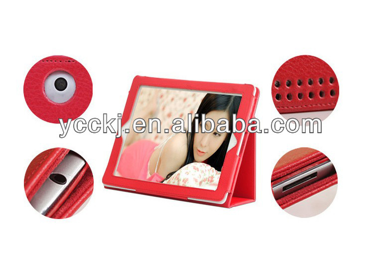 factory price fashion design stand holder for ipad mini flip cover case made in china shenzhen