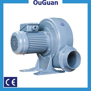 Aluminum 0.4KW PF100-05 industrial impeller air blower centrifugal fan