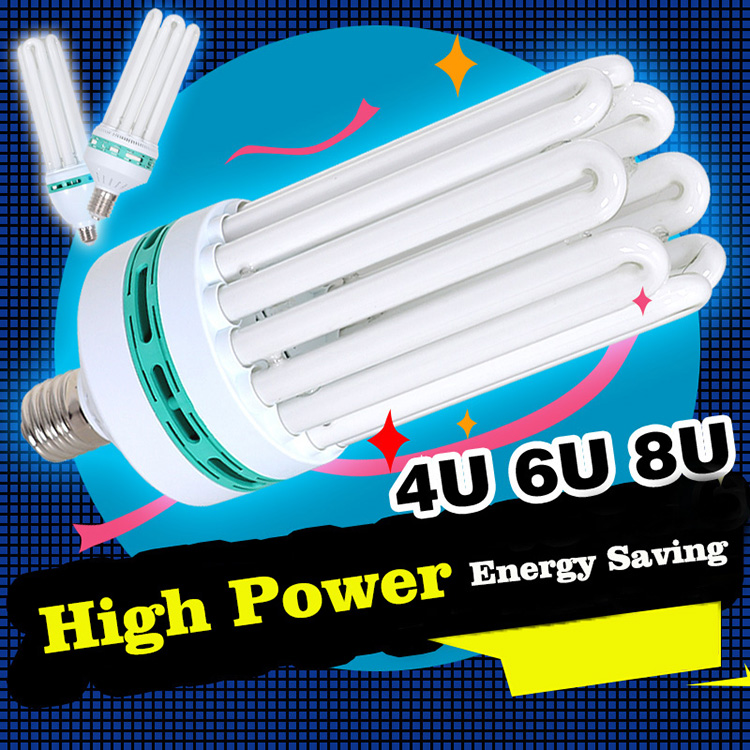 China manufacturer 6000h 8000h Compact Fluorescent Lamp pure Tri-phosphor CFL bulb