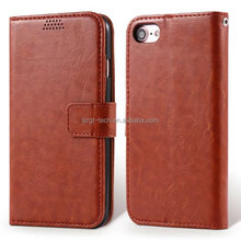 Luxury Flip Leather Case wallet for iphone 7 7plus with Credit Card holder,wallet flip pu ultra slim for iphone7 7plus